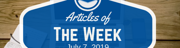 Article Of The Week July 7, 2019