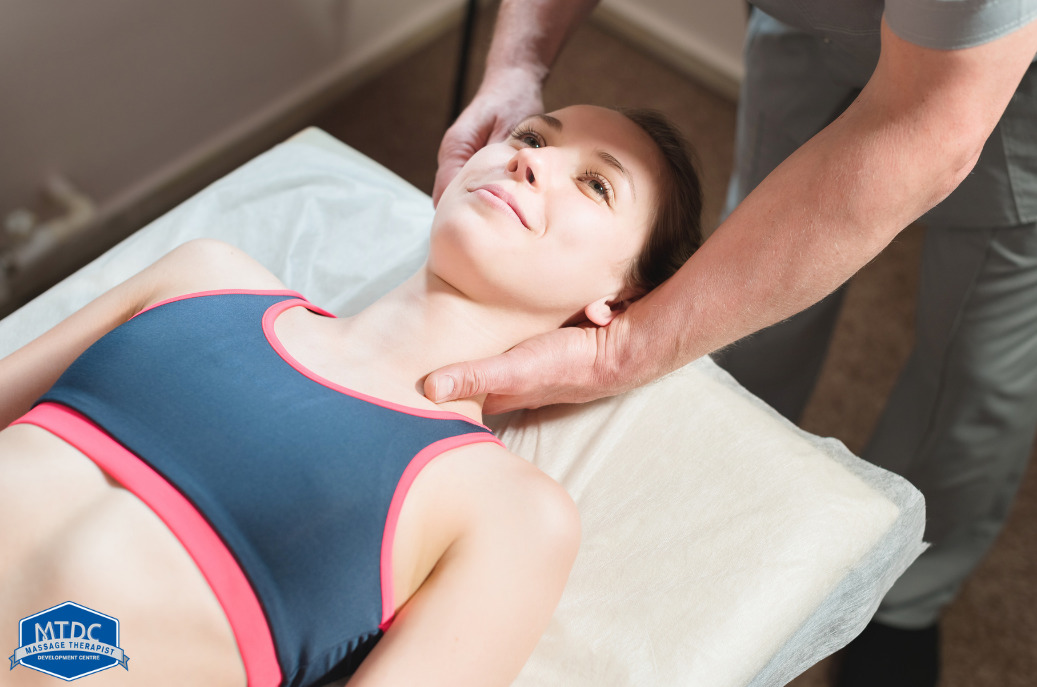 Myofascial release in massage therapy